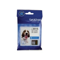 Genuine Brother LC3311C Ink Cartridge - Cyan