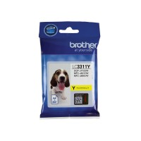 Genuine Brother LC3311Y Ink Cartridge - Yellow