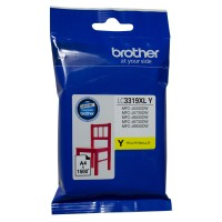 Genuine Brother LC3319XLY High Yield Ink Cartridge - Yellow