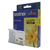 Genuine Brother LC37Y Ink Cartridge - Yellow