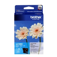 Genuine Brother LC39C Ink Cartridge - Cyan
