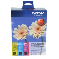 Genuine Brother LC39 Ink Cartridge 3 Pack - Colour