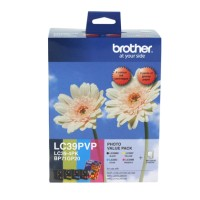 Genuine Brother LC39 Photo Value Pack