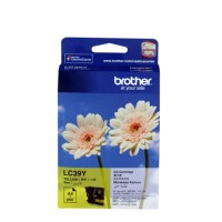 Genuine Brother LC39Y Ink Cartridge - Yellow