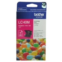 Genuine Brother LC40M Ink Cartridge - Magenta 300 Pages