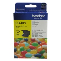 Genuine Brother LC40Y Ink Cartridge - Yellow 300 Pages