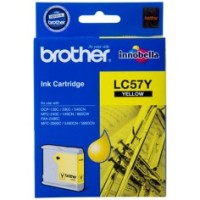 Genuine Brother LC57Y Ink Cartridge - Yellow