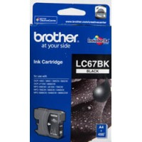 Genuine Brother LC67BK Ink Cartridge - Black