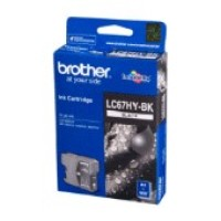 Genuine Brother LC67HYBK High Yield Ink Cartridge - Black