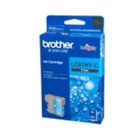 Genuine Brother LC67HYC High Yield Ink Cartridge - Cyan