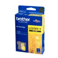 Genuine Brother LC67HYY High Yield Ink Cartridge - Yellow