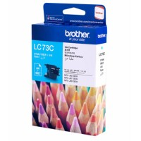 Genuine Brother LC73C Ink Cartridge - Cyan 600 Pages