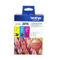 Genuine Brother LC73 Ink Cartridge 3 Pack Colours 600 Pages Each