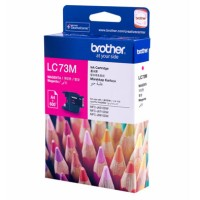 Genuine Brother LC73M Ink Cartridge - Magenta 600 Pages