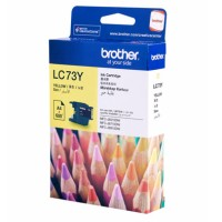Genuine Brother LC73Y Ink Cartridge - Yellow 600 Pages