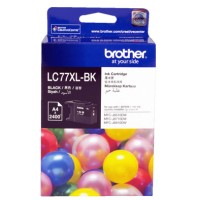 Genuine Brother LC77XLBK Ink Cartridge - Black 2400 Pages