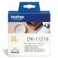 Genuine Brother DK11219 12mm Round Labels