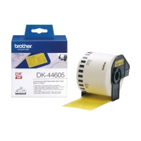 Genuine Brother DK44605 62mm Yellow Continuous Label