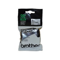 Genuine Brother M921 9mm Black on Silver Label Tape