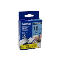 Genuine Brother TZe541 18mm Labelling Tape Black on Blue