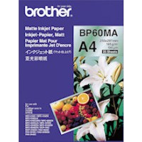 Genuine Brother A4 Matte Paper Pkt 25 - BP60MA