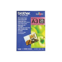 Genuine Brother A3 Matte Paper Pkt 25