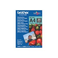 Genuine Brother A4 260gsm Glossy Photo Paper Pkt 20