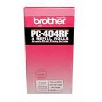Genuine Brother PC404RF Thermal Ribbon - 4 Rolls