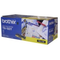 Genuine Brother TN150Y Toner Cartirdge - Yellow