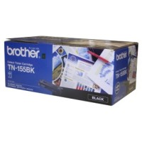 Genuine Brother TN155BK High Yield Toner Cartridge - Black