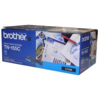 Genuine Brother TN155C High Yield Toner Cartridge- Cyan