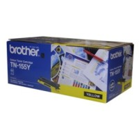 Genuine Brother TN155Y High Yield Toner Cartridge - Yellow