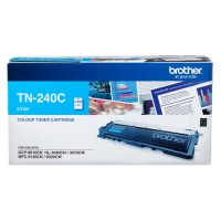 Genuine Brother TN240C Toner Cartridge - Cyan