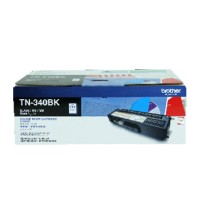 Genuine Brother TN340BK Toner Cartridge 2500 Pages