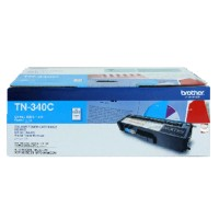 Genuine Brother TN340C Cyan Toner Cartridge 1500 Pages