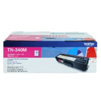 Genuine Brother TN340M Magenta Toner Cartridge 1500 Pages