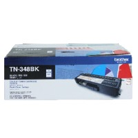 Genuine Brother TN348BK High Yield Toner Cartridge - Black
