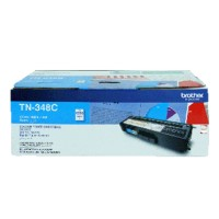 Genuine Brother TN348C High Yield Toner Cartridge - Cyan
