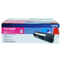 Genuine Brother TN348M High Yield Toner Cartridge - Magenta