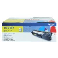 Genuine Brother TN348Y High Yield Toner Cartridge - Yellow