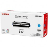 Genuine Canon CART317C Cyan Toner Cartridge