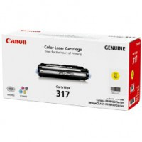 Genuine Canon CART317Y Yellow Toner Cartridge