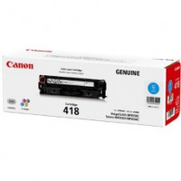 Genuine Canon CART418C Cyan Toner Cartridge