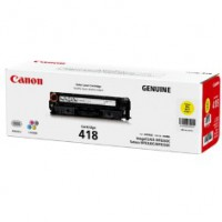 Genuine Canon CART418Y Yellow Toner Cartridge