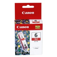 Genuine Canon BCI6R Red Ink Tank