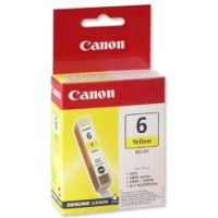 Genuine Canon BCI6Y Yellow Ink Tank