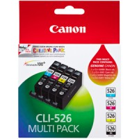 Genuine Canon CLI526 Multi Pack Ink Cartridges
