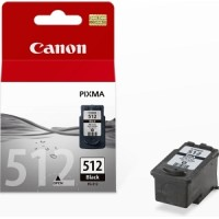 Genuine Canon PG512 Ink Cartridge High Capacity - Black