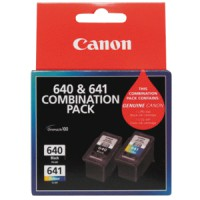 Genuine Canon PG640XL + CL641XL Ink Cartridge Combo pack
