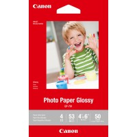 Genuine Canon 6x4 200gsm Glossy Photo Paper - 50 Pack